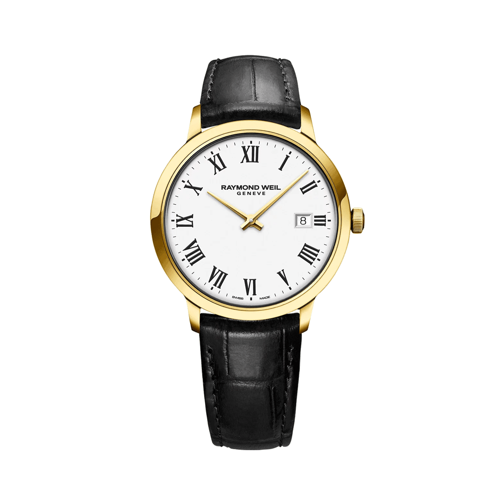 Toccata Men's Gold-Plated White Dial Quartz Watch