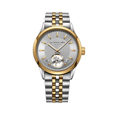 Freelancer Gold Silver Automatic Watch
