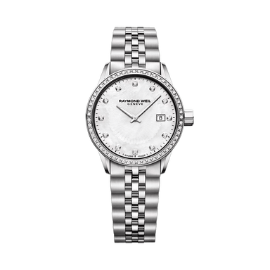 Freelancer Ladies Steel Diamond Quartz Watch