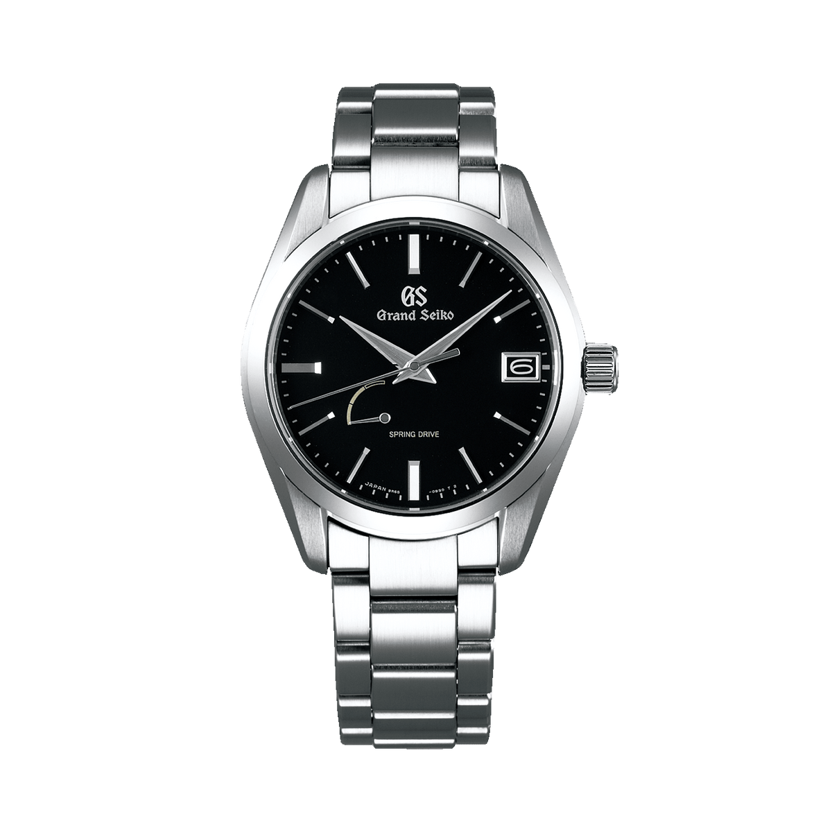 Spring Drive Black Dial Watch SBGA285