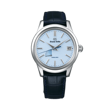 Spring Drive Blue Snowflake Dial Watch SBGA407