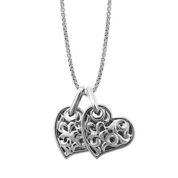sc 1 st  Diamond Cellar & Two Hearts Beat As Oneu0027 Necklace large u2013 Diamond Cellar