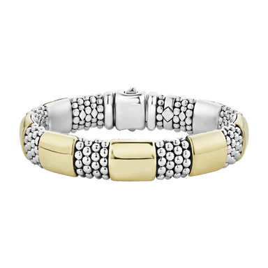 High Bar 7 Station Caviar Bracelet