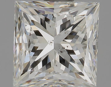 0.96 Carat I SI2 Princess Cut Diamond
