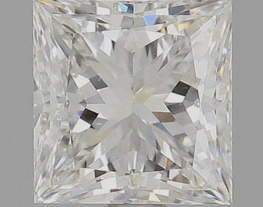 1.23 Carat G SI1 Princess Cut Diamond