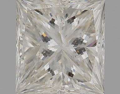 1.52 Carat I I2 Princess Cut Diamond