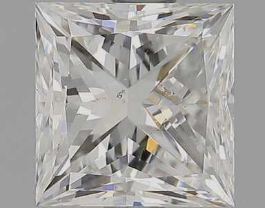 1.17 Carat G SI1 Princess Cut Diamond