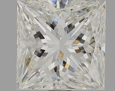 1.50 Carat J VVS2 Princess Cut Diamond