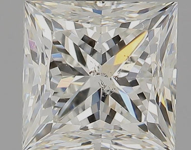 1.35 Carat I SI2 Princess Cut Diamond