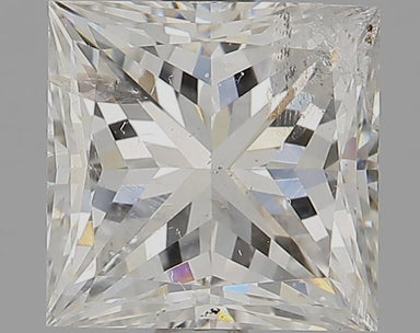 1.56 Carat G I1 Princess Cut Diamond