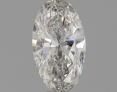 0.36 Carat G I1 Oval Diamond