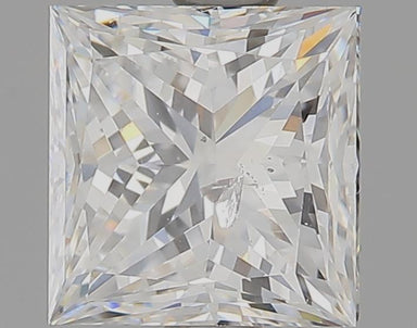 1.21 Carat F I1 Princess Cut Diamond