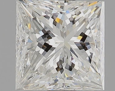 1.01 Carat H SI2 Princess Cut Diamond
