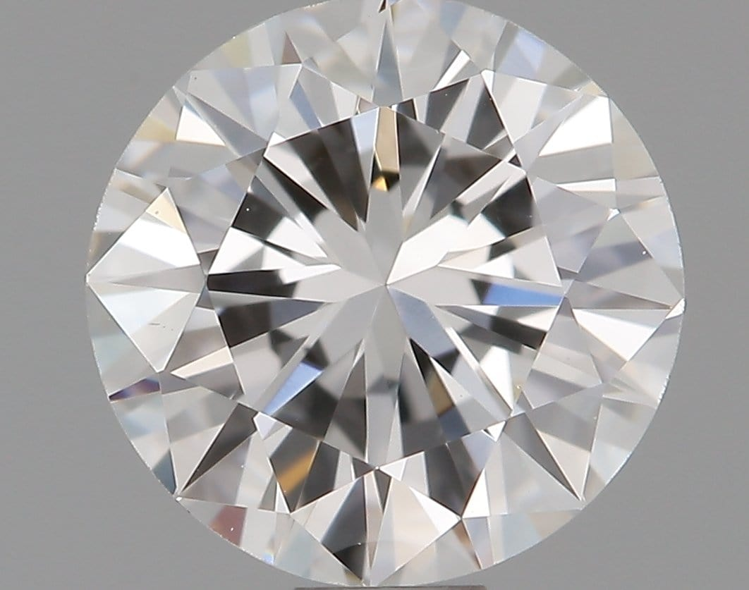 0.55 Carat F VS1 Round Diamond
