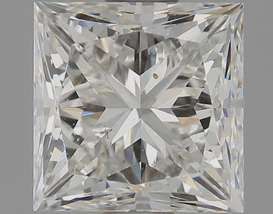 0.94 Carat G SI1 Princess Cut Diamond