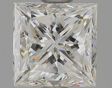 1.02 Carat I SI1 Princess Cut Diamond