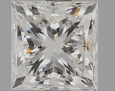 1.50 Carat H SI1 Princess Cut Diamond