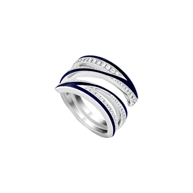 Diamond Vertigo Infinity Ring