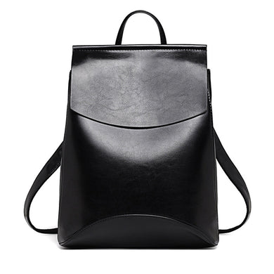 High Quality Leather Backpack for Women