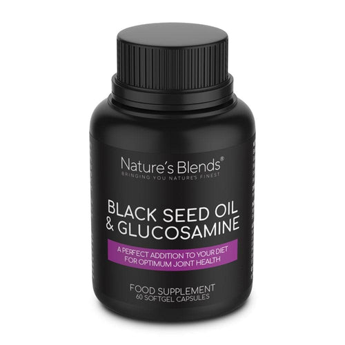 Black Seed Oil & Natural Glucosamine Capsules - Nature's Blends