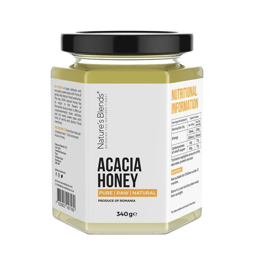 Raw Natural Acacia Honey (340g)