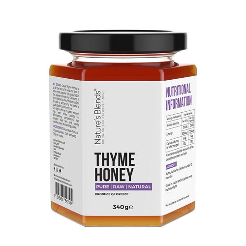 Raw Thyme Honey (340g) - Nature's Blends
