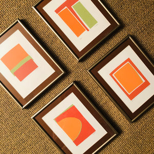 Series of 4, Signed Prints: One, Soho, Space, Horizons