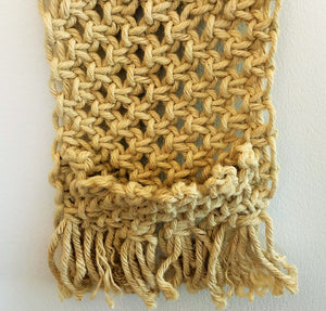 Jute Wall Hanging with Pocket