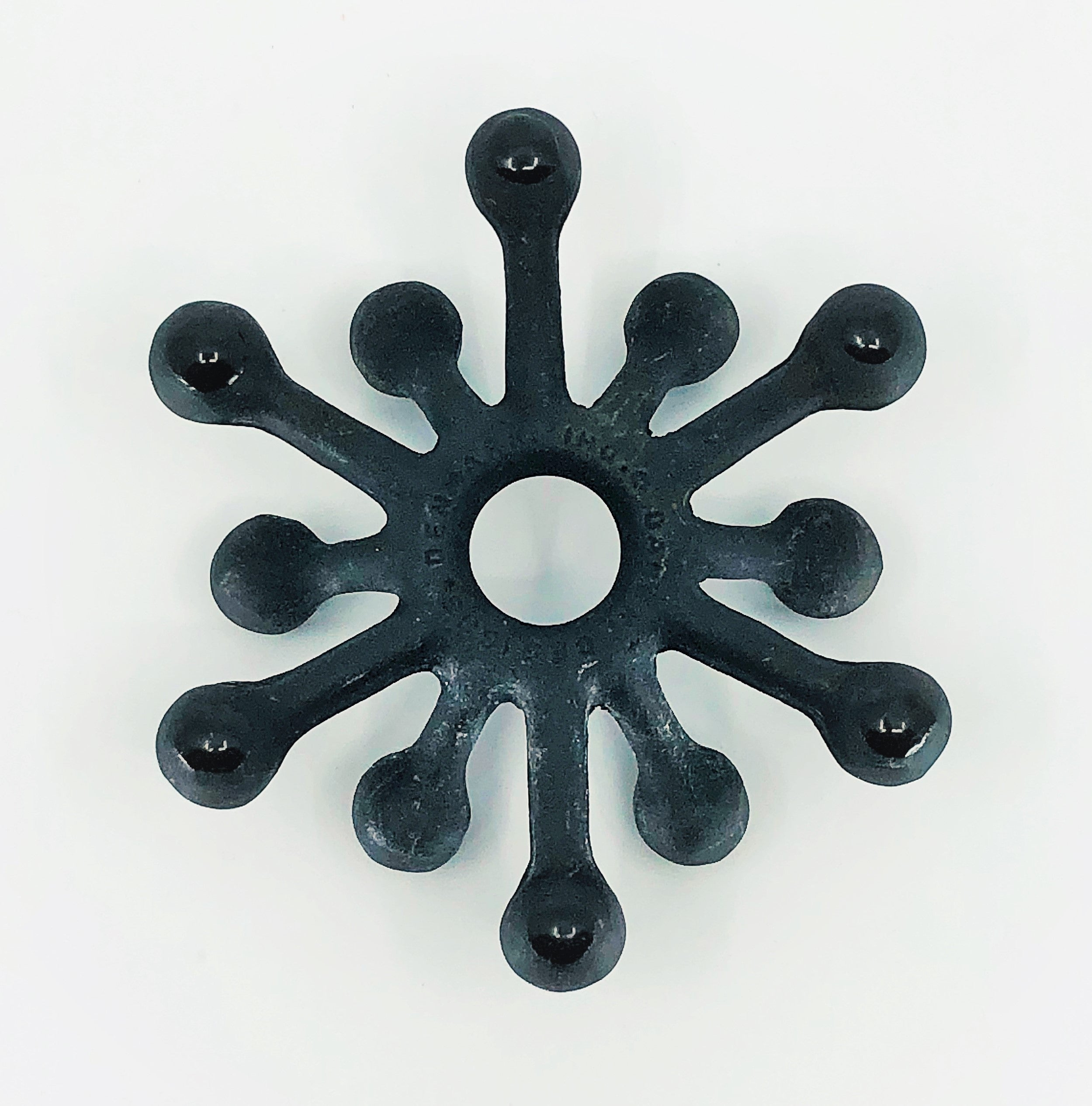 Cast Iron Dansk Spider Candle Holder, Jens Quistgaard Design