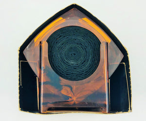 "MCM Majestic Gifts ""Tortoise Shell"" Lucite Coasters"