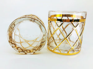 24k Alturzarra Drinking Glasses, Collectors Item