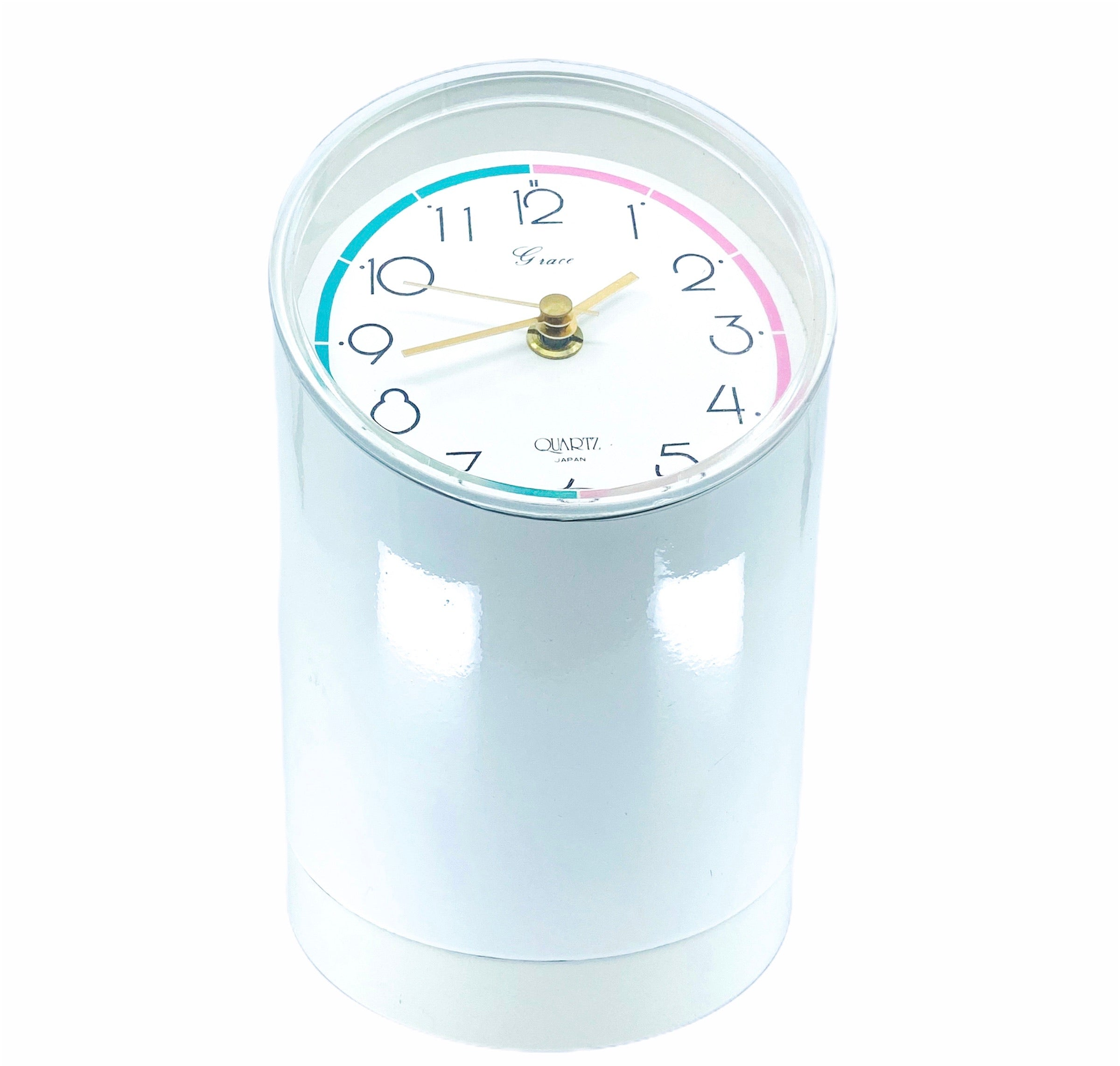 Grace Quartz Table Clock, Made in Japan