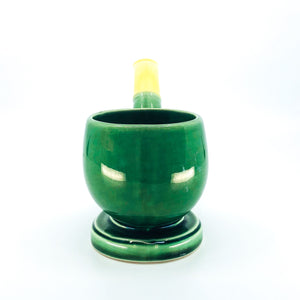 Vintage Ceramic Pipe Planter