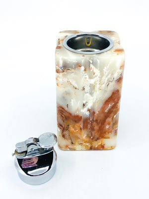 Tall Vintage Marble Lighter