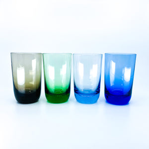 S/4 Small MCM Multicolor Glasses