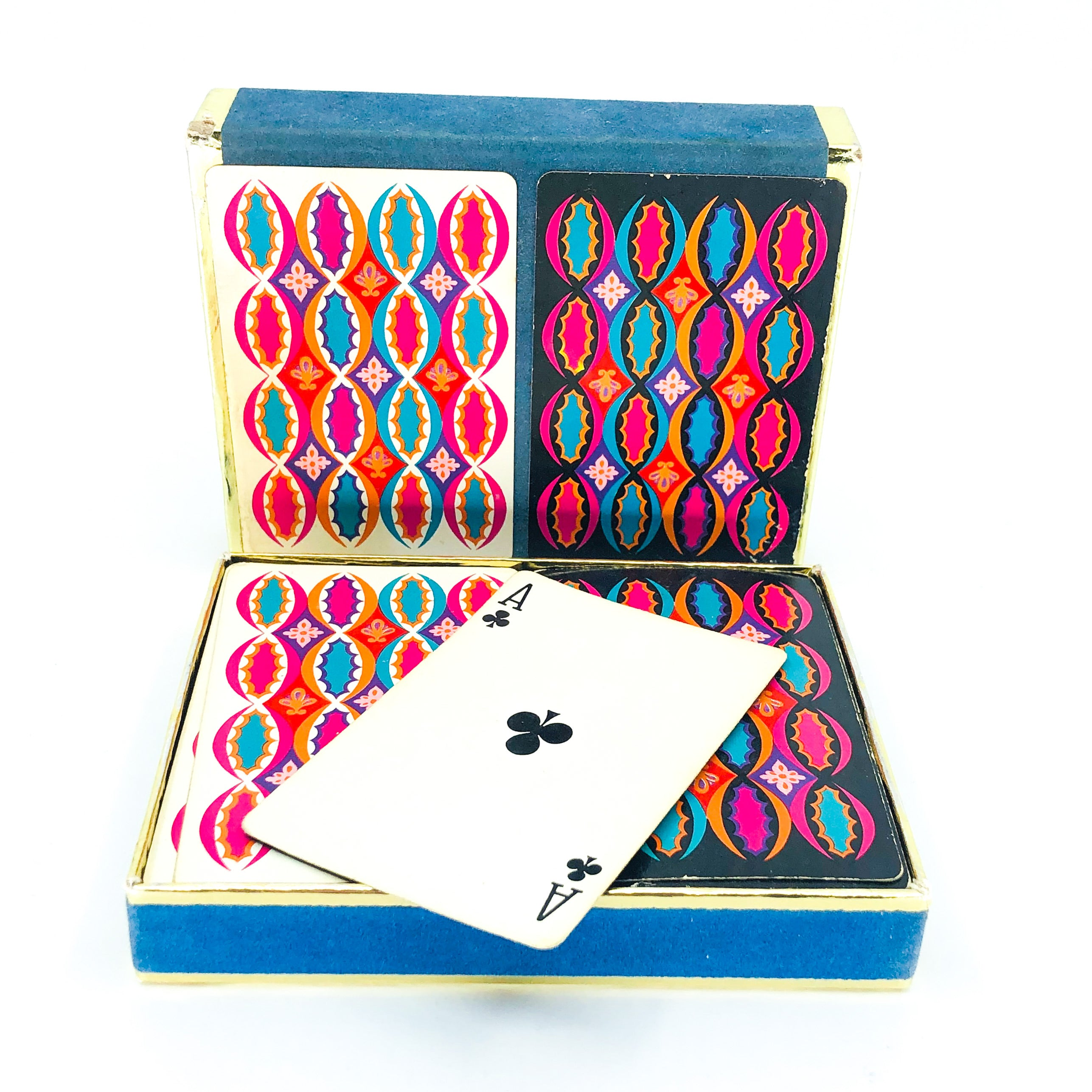 Vintage MCM Duratone Set of Playing Cards