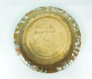 MCM Signed Pottery Bowl
