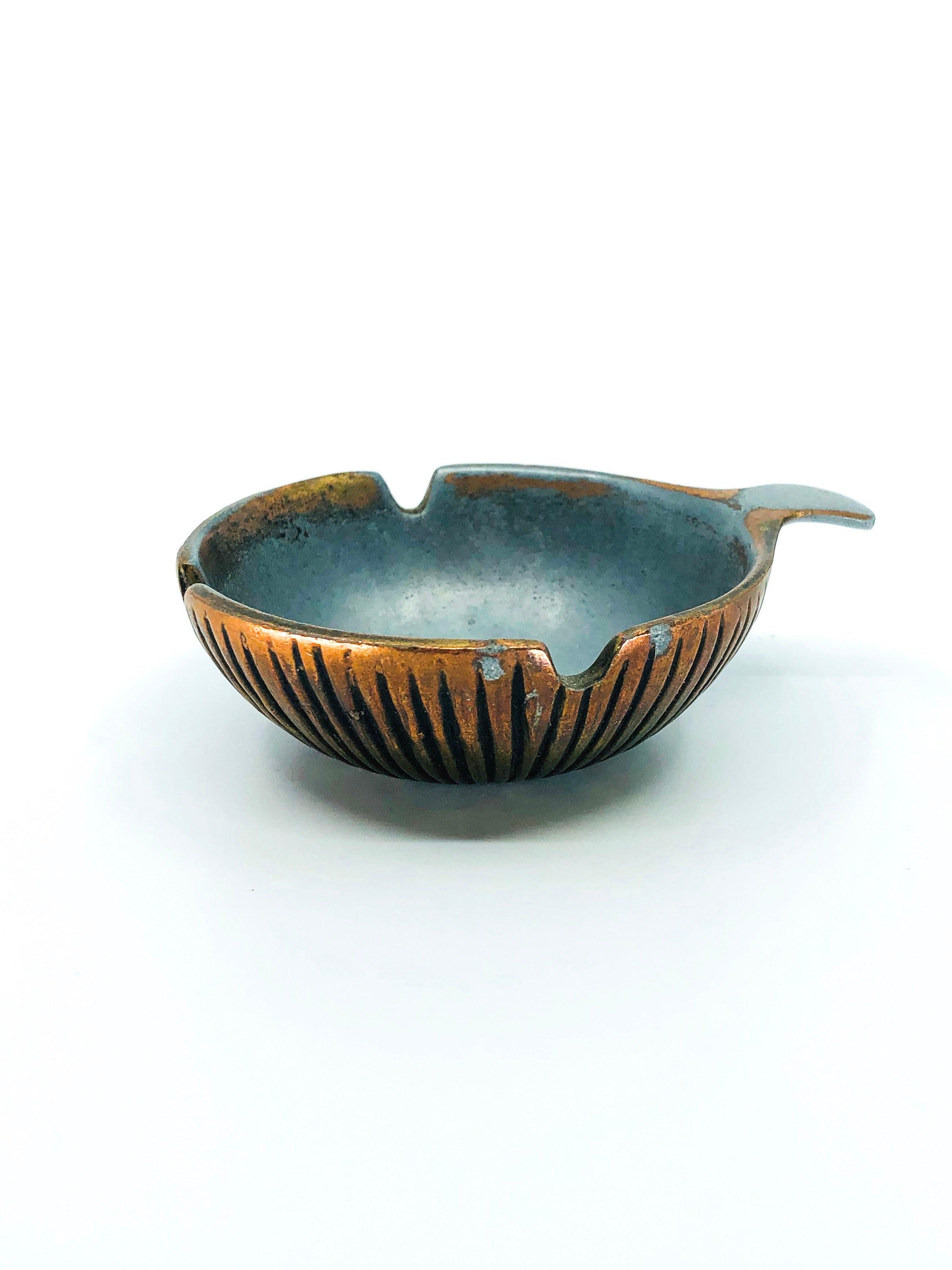 Ben Seibel Style Copper Coated Ashtray