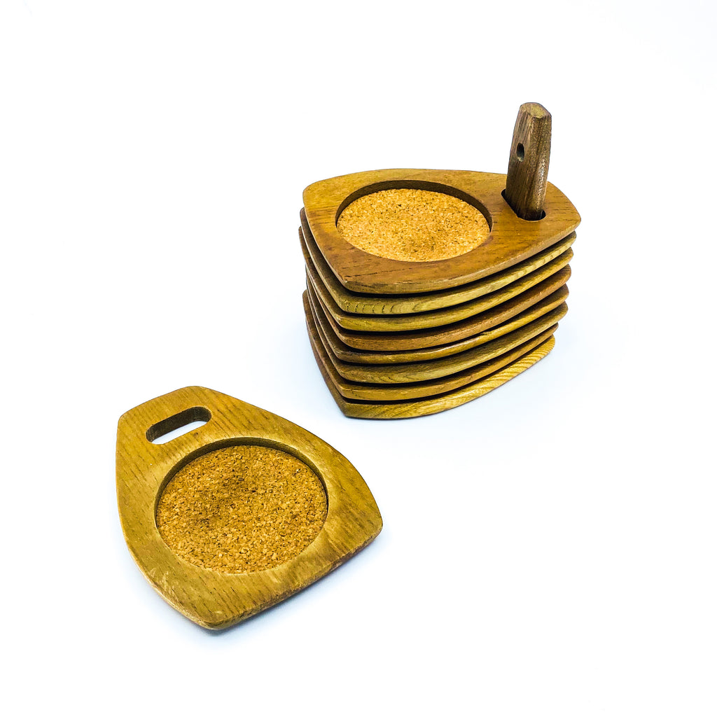 Woodcrest by Styson Stackable Coasters