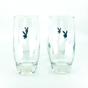 S/4 Playboy Highball Glasses