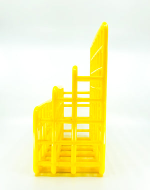 "MCM ""Designed by Jaffa"" Yellow Desk Organizer"