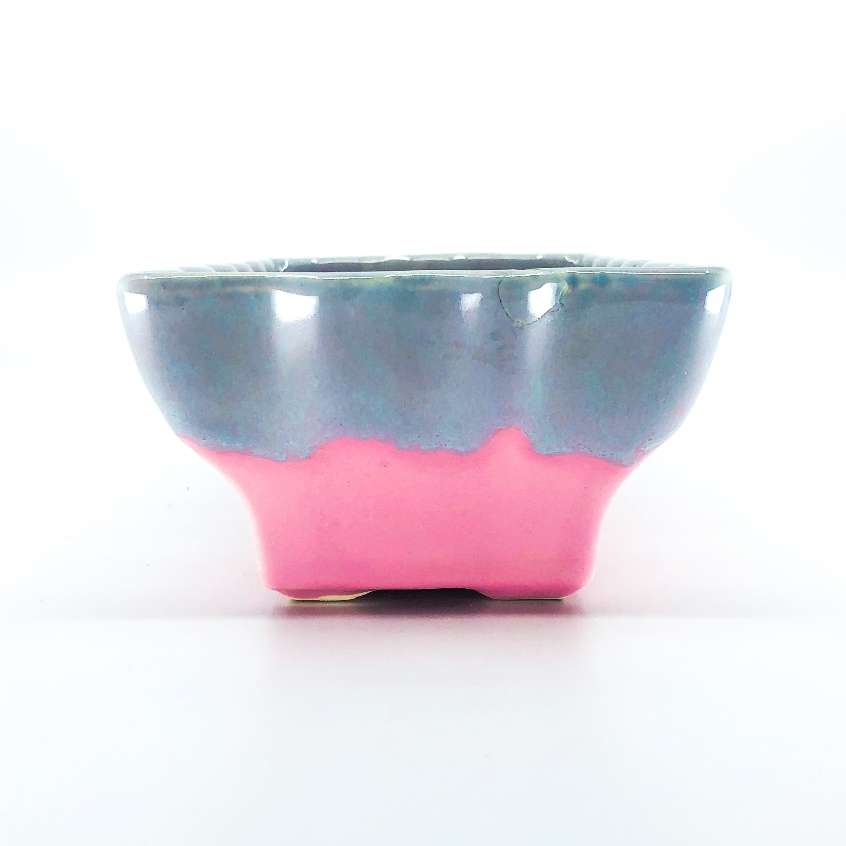 Vintage Hull USA Ceramic Candy Colored Planter / Dish