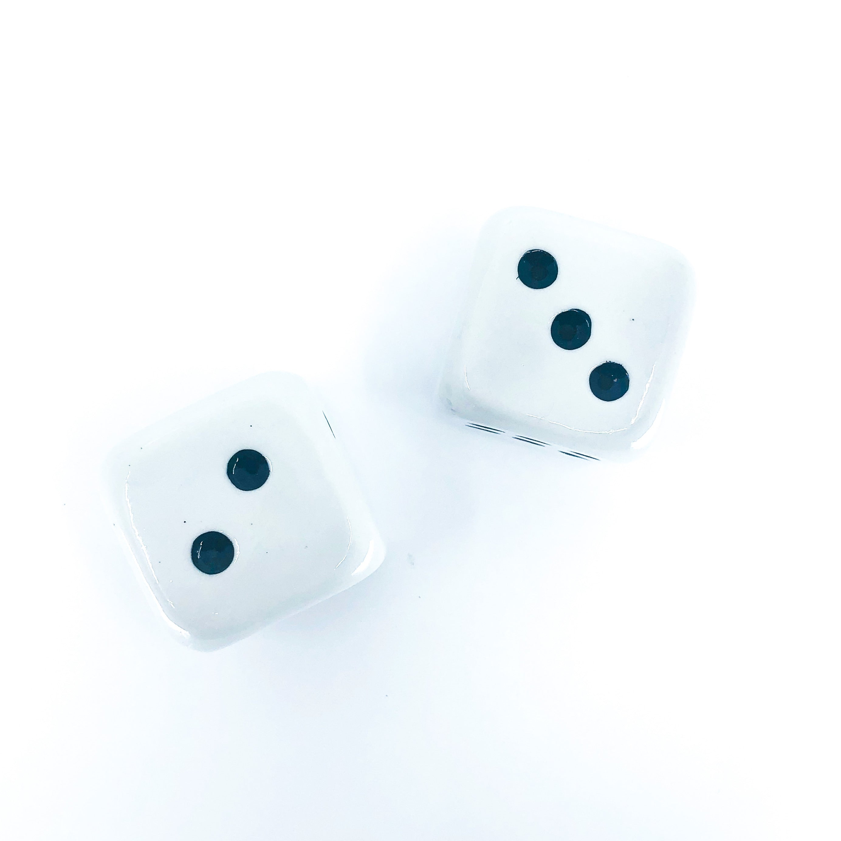 Vintage Pair of Dice, Salt & Pepper Shakers