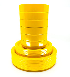 S/18 Ingrid Ltd Yellow Plate & Bowl Set