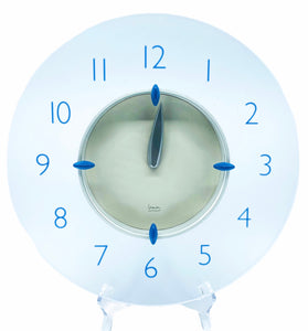 Michael Graves Frosted Acrylic Wall Clock