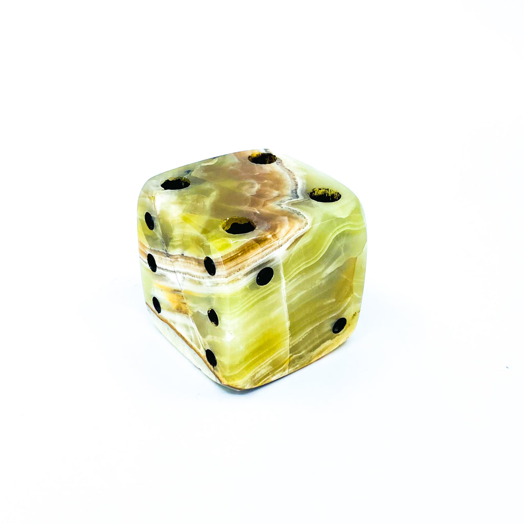 Onyx Dice Pen Holder
