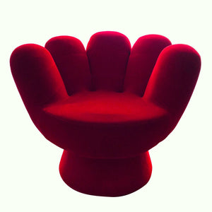 Vintage Red Hand Chair