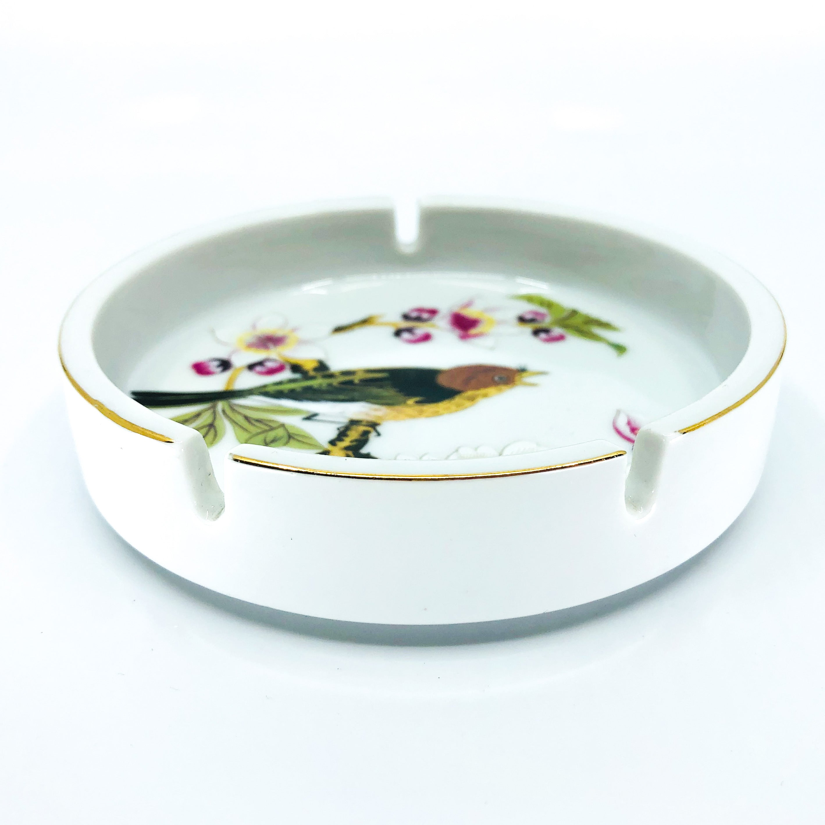 Vintage Chinese Garden Ashtray by Shafford