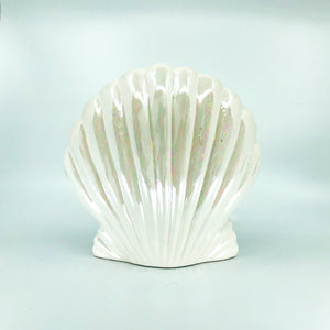 Pearlescent Shell Coin Bank