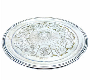 Wallace Silver Plated Zodiac Tray